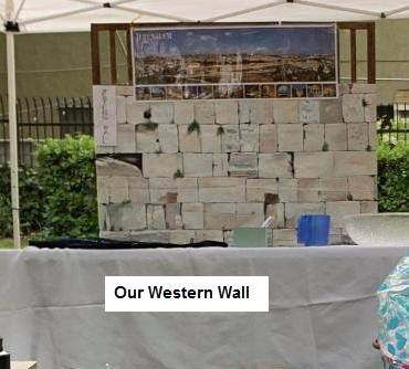 Our Western Wall for prayer